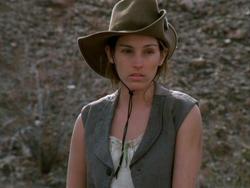Amy Jo Johnson in Hard Ground