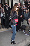 Ванесса Паради, фото 266. Vanessa Paradis arrives at Pavillon Cambon to attend the Chanel show at Pavillon Cambon Capucines in Paris, France, January 25, foto 266