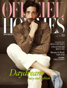 Adrien Brody L'Officiel Hommes Korea May 2012