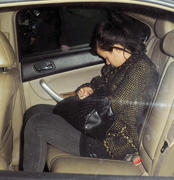 Lily Allen leaves the Groucho club in London 03-03-2011