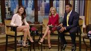 Keri Russell on Live! with Kelly and Michael (1-30-13) HD 1080i