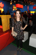 Kay Panabaker - Super Mario 3D Land launch party 11/3/11